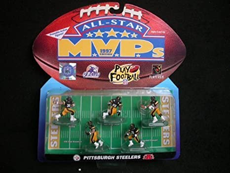 Pittsburgh Steelers 1997 All-Star MVP Figures by Allstar: Amazon.es: Juguetes y juegos