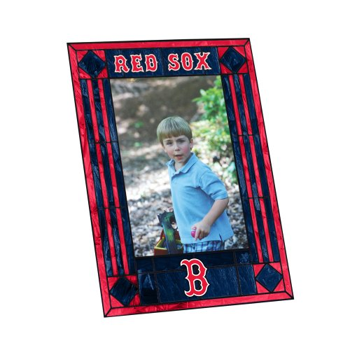 MLB Boston Red Sox Art Glass - Glass Art Sox