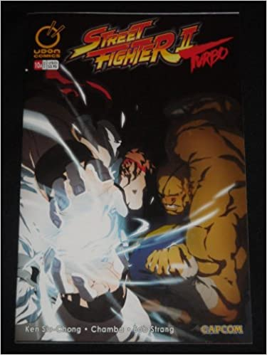 STREET FIGHTER 2 TURBO #10 COVER A SAGAT KEN RYU (STREET FIGHTER 2 TURBO, 1ST): KEN SIU-CHONG, CHAMBA: Amazon.com: Books
