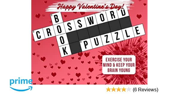 Valentines Gifts for Her Crossword Puzzle Book as a Valentines Day Gift for Her Valentines Day Gifts for Girlfriend Wife or Mom Paperback u2013 January 3 ...  sc 1 st  Amazon.com & Valentines Gifts for Her: Crossword Puzzle Book as a Valentines Day ...
