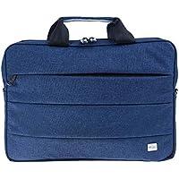 PLM Case Kumaş Notebook/Evrak Çantası 13-14inç tüm cihazlar ile uyumludur, Mavi