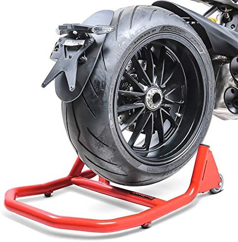 B/équilles datelier arri/ère monobras pour Ducati Hypermotard 796 10-12 V5 Rouge