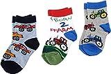 Jefferies Socks Born 2 Farm Triple Treat Infant/Toddler/Little Kids Farmer Boys Shoes