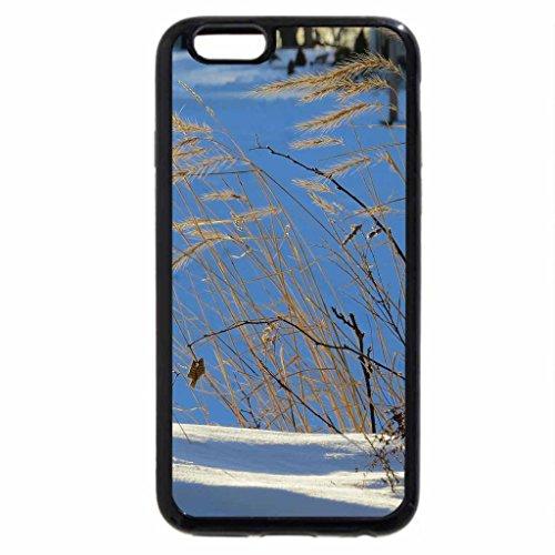 iPhone 6S Case, iPhone 6 Case (Black & White) - Winter Waiting