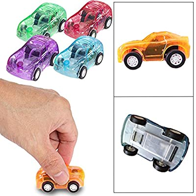 Toy Cubby Mini Pull Back and Go Fast Racing Car. 24 pcs by Toy Cubby