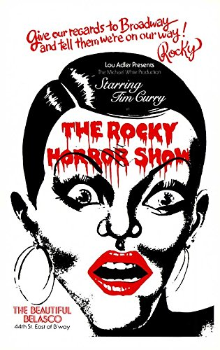 The Rocky Horror Picture Show Poster Broadway Theater Play