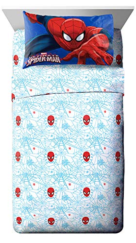 Marvel Spiderman 'Regulator' Toddler 4 Piece Bed Set 2
