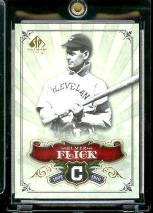 2006 Upper Deck SP Legendary Cuts # 10 Elmer Flick - Cleveland Indians - Baseball Trading Card ()