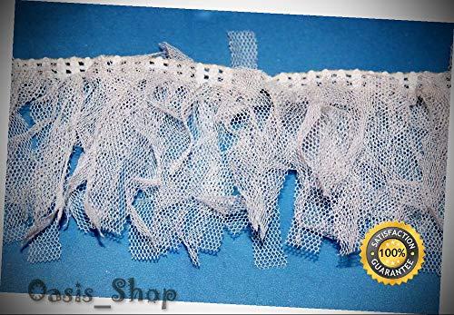 1 Yard White Netting boa Sewing Craft