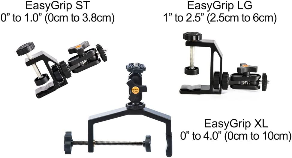 up to 4.0 Wide Tether Tools EasyGrip XL