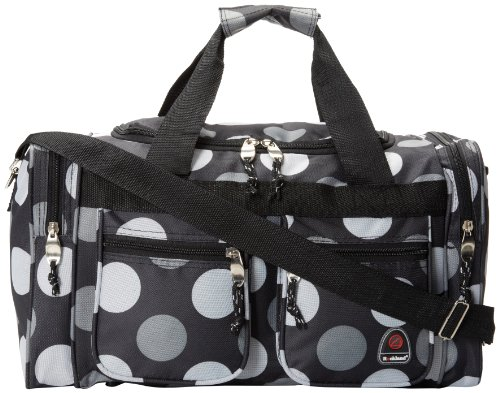 rockland-luggage-19-inch-tote-bag-big-black-dot-one-size