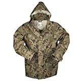 Mil-Tec Polish Wet Weather Jacket Trilaminat Camouflage - 10622035 (Large)