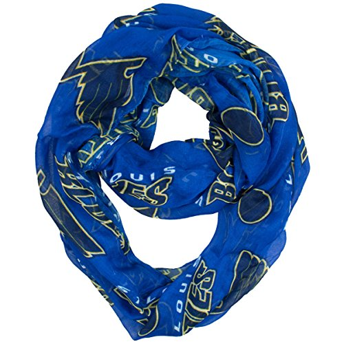 nhl-st-louis-blues-sheer-infinity-scarf-one-size-blue