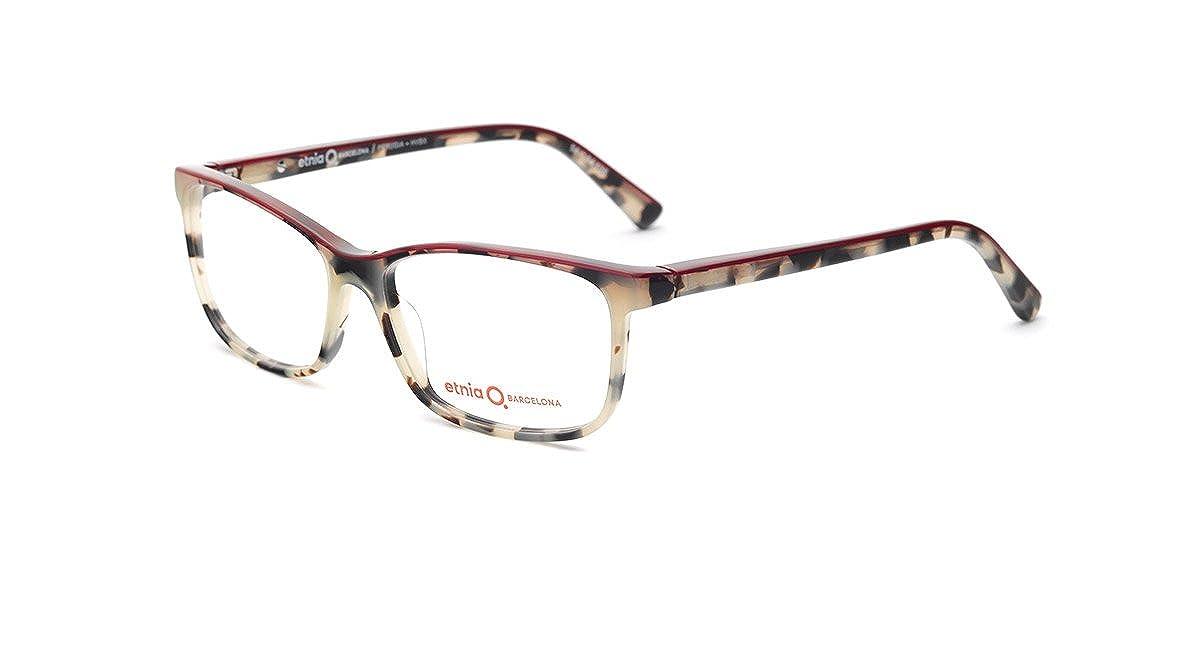 6ef700e28f5c2a Etnia Barcelona - Monture de lunettes - Femme Havana Bordeaux  Amazon.fr   Vêtements et accessoires