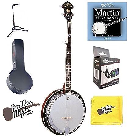 Amazon com: Oscar Schmidt OB5E - Acoustic Electric 5-String
