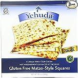 Yehuda Matzo Squares Gluten-Free 10.5 Ounce Pack of 3