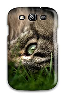 Awesome YMjxOuK12439JoeEE Carmen Corona Defender Tpu Hard Case Cover For Galaxy S3- Cat