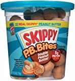 Skippy Regular Creamy Double Peanut Butter Spread, 6 Ounce (Pack of 6)