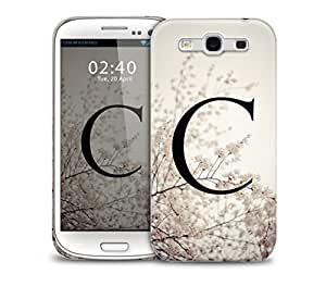 letter c Samsung Galaxy S3 GS3 protective phone case