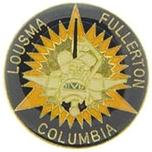 "Space Shuttle Columbia Lousma-Fullerton Pin 1"""