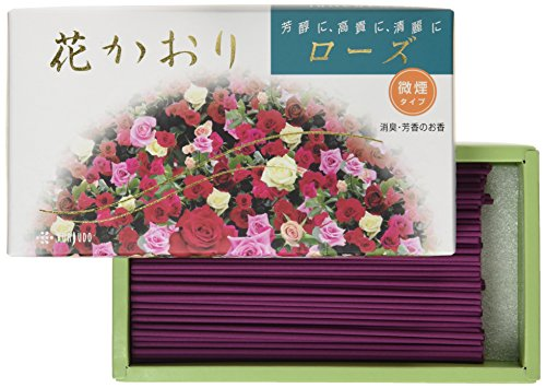Incense Hana Kaori Rose #627 Less Smoke Made in Japan