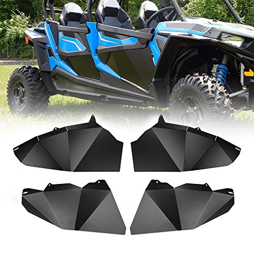 RZR 4 Lower Half Door Insert Panels, KEMIMOTO 4 Seater Aluminum Bottom Doors Compatible with 2014-2019 Polaris Razor 900 1000 XP4 Turbo