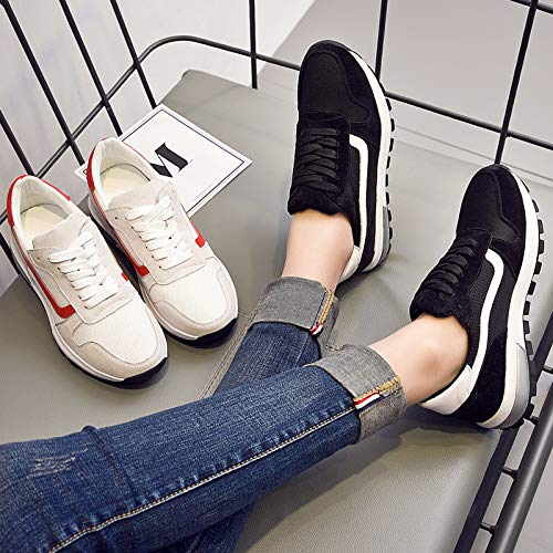 jogging Course De Forty Noir Kphy Four Femmes Seasons Dcontract Printemps Pour Plates Sport Chaussures tudiant ZdR74qC