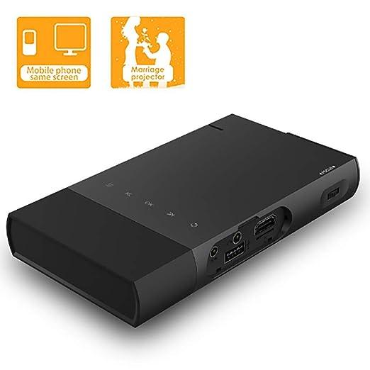 siberiantiger Proyector Micro HD,Proyector Misma Pantalla ...