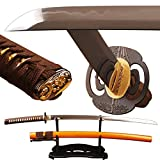 1095 carbon steel sword - Shijian Samurai Swords Clay Tempered by 1095 Carbon Steel Folded 15 Times