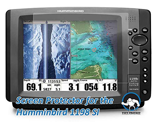 Tuff Protect Anti-Glare Screen Protectors for Humminbird 1198 SI Fish Finder