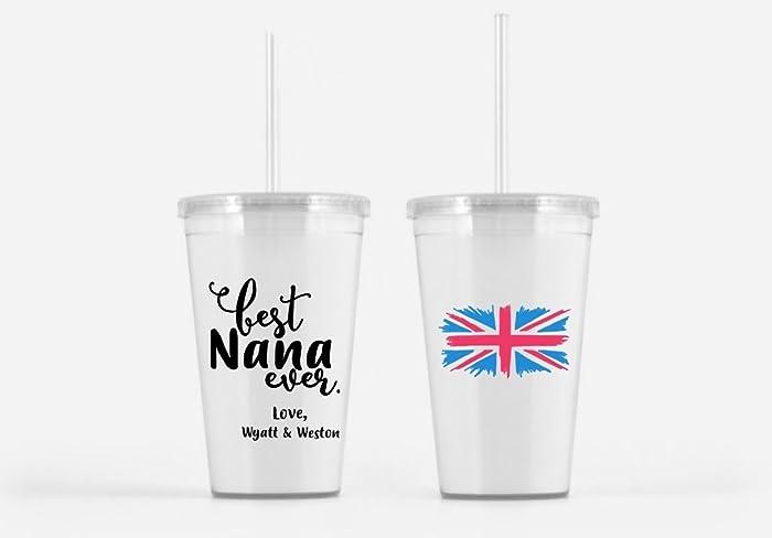 Amazon Best Nana Ever Beverage Tumbler