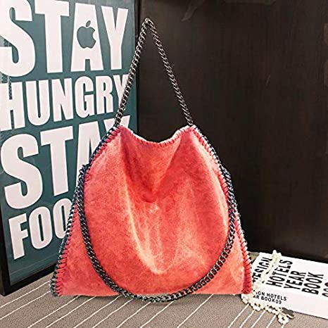 Amazon.com: Women Bag Message PU Leather Fashion Portable Chain Woven Messenger Shoulder Bags Bolsa Feminina Carteras Mujer Stella: Kitchen & Dining