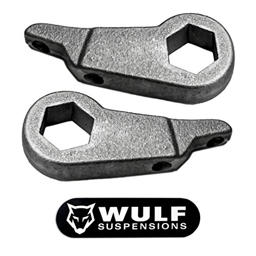 "WULF 1-3"" Front Adj Lift Leveling Kit for 1998-2011 Ford Ranger 2/4WD Edge Sport (Torsion Bar Suspensions)"