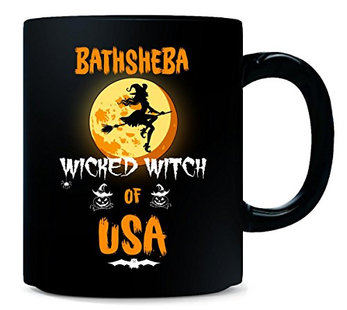 (Bathsheba Wicked Witch Of Usa. Halloween Gift -)