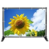 10x8 ft Telescopic Adjustable Banner Stand Backdrop Display