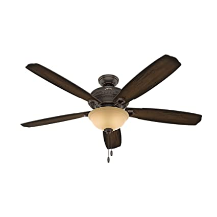 Hunter 54174 60 ambrose bowl light ceiling fan with light great hunter 54174 60quot ambrose bowl light ceiling fan with light great onyx bengal aloadofball Image collections
