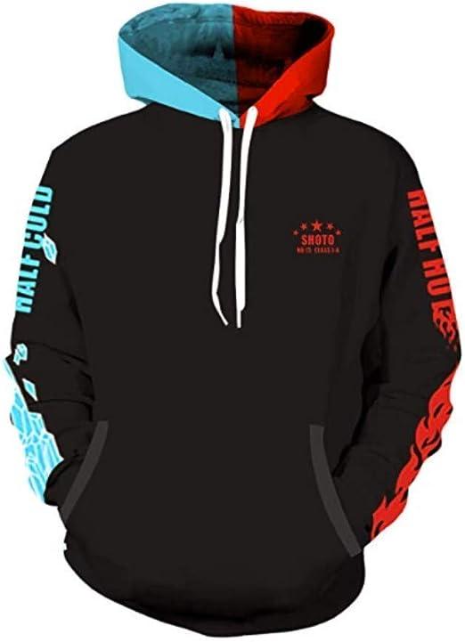 My Boku no Hero Academia Cosplay Shoto Todoroki Pullover Hoodie Jacket Unisex