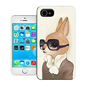 Unique Phone Case Honey Bunny Hard Cover for iPhone 4/4s cases-buythecase