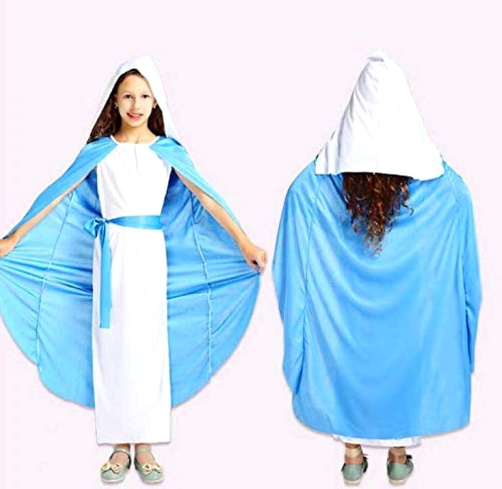 Disfraz de virgen maría - ropa de mujer para niños - halloween ...