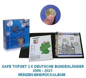 1 X Safe 7341 7 2 Euromünzen Premium Vordruckblatt Nachtrag 2011