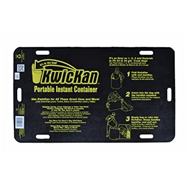 Kwickan KC100IS Portable Instant Container, Black/Yellow