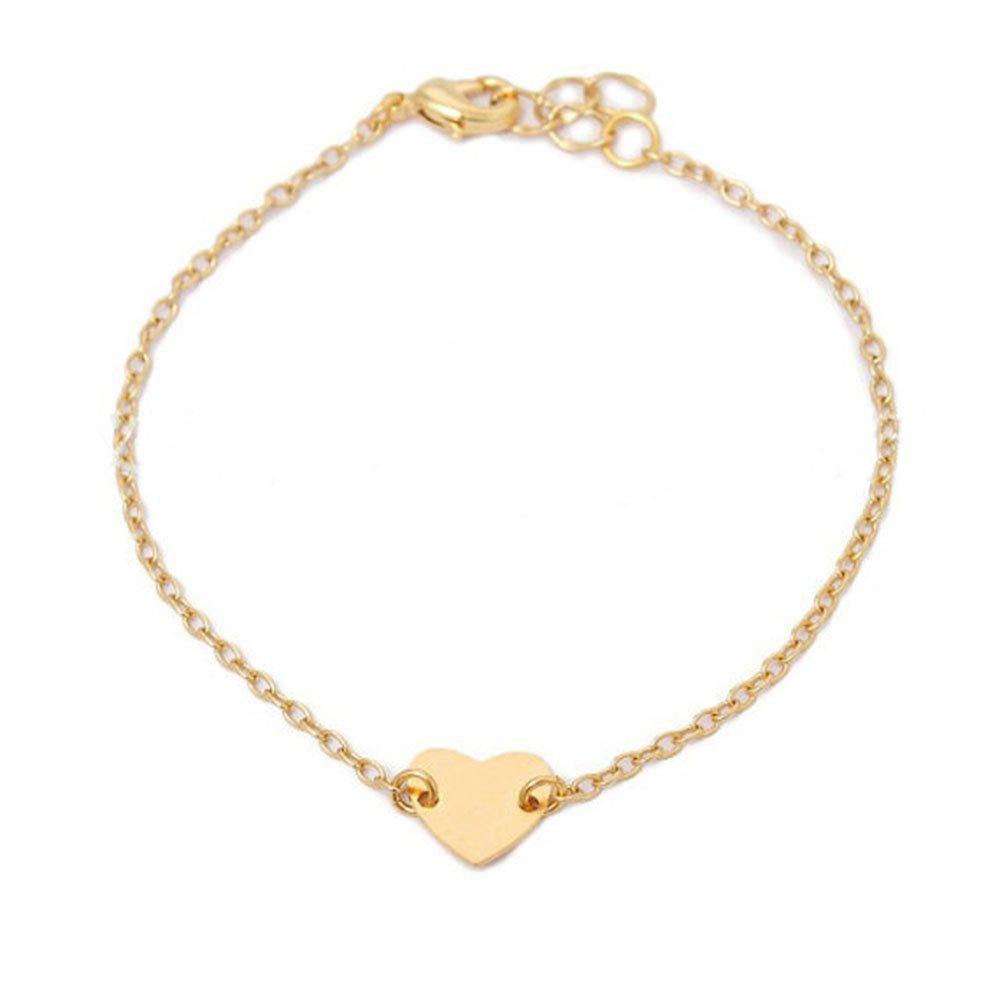 MINGHUA Bar Bracelet Minimalism Line Bracelet Chain Simplify Stick Bracelet