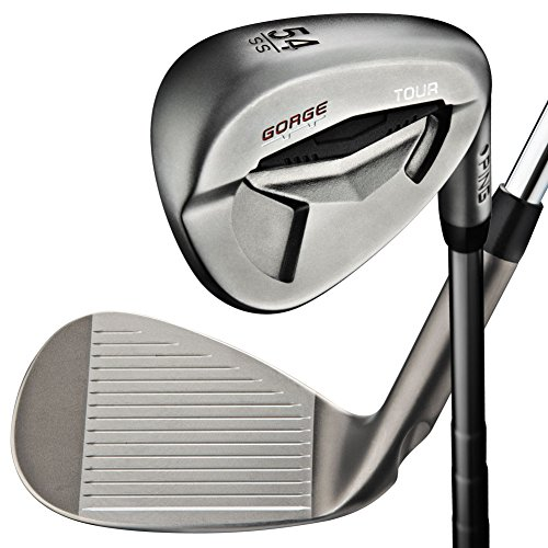 Ping Sand Wedge - Ping Tour Wedge II Sand Wedge Black 56/SS (CFS, LEFT) Gorge SW