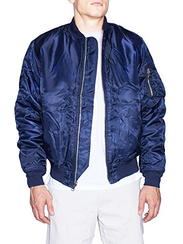 Navy Blue Flight Jacket - 6