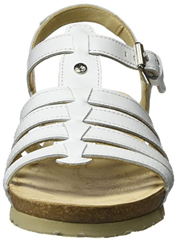 Panama Jack Women PT181575 Open-Toe Sandals White (White) KfpbJtWV0