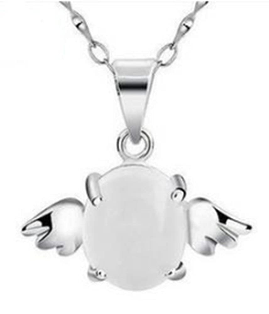 925 sterling silver ladies Angel Egg chain of clavicle spot AmaranTeen