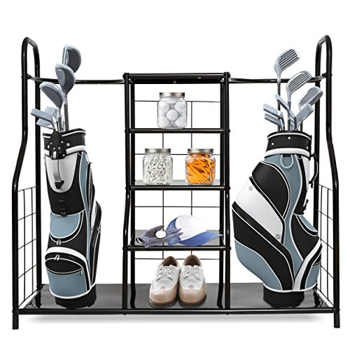 Morvat Golf Organizer for Golf Bag and Golf Accessories | Perfect Way to Store and Organize Your Golf Equipment, Golf Clubs and Golf Travel Bag (Best Way To Store Shoes)