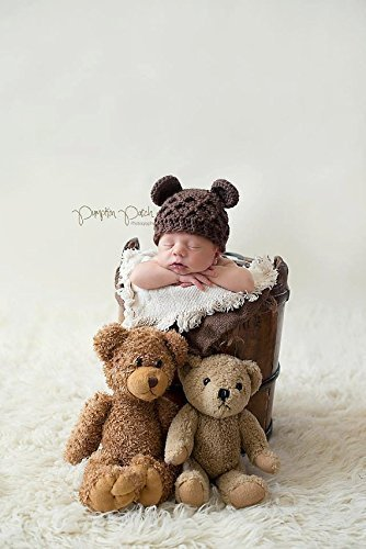 Amazon.com  Newborn Bear Hat 5501c9fbb71