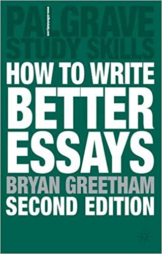 History Of English Essay How To Write Better Essays Study Guides Nd Edition Essays And Term Papers also Sample Argumentative Essay High School Amazoncom How To Write Better Essays Study Guides   International Business Essays