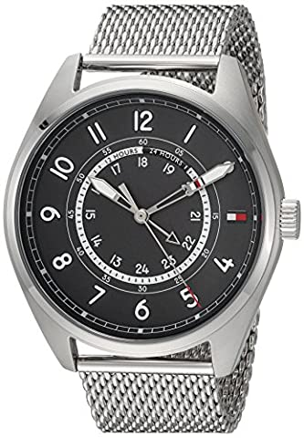 Tommy Hilfiger Men's 'Sport' Quartz Stainless Steel Casual Watch, Color:Silver-Toned (Model: (G Shock Gloss)